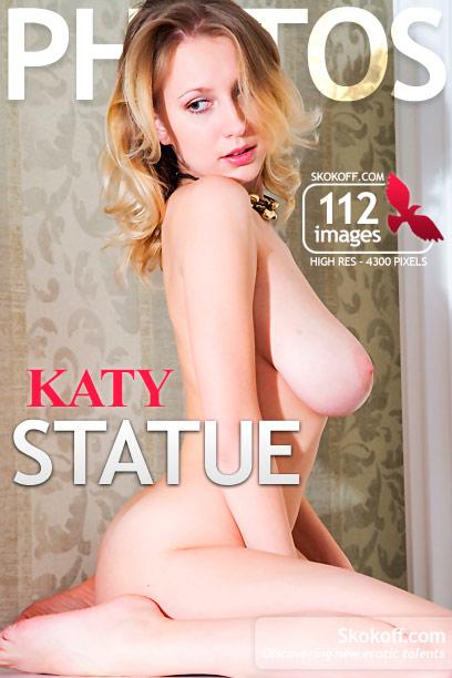 SKOKOFF amateur girls: Katy - Statue