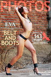 sesje zdjęciowe nagich dziewczyn SKOKOFF: Eve - belt and boots