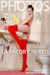 Skokoff - Tamara - Lavatory In Red